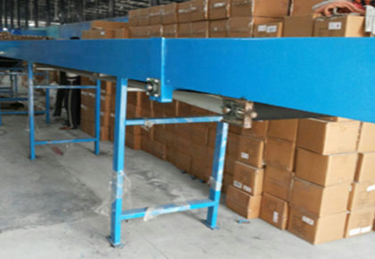 Telescopic material loading conveyor